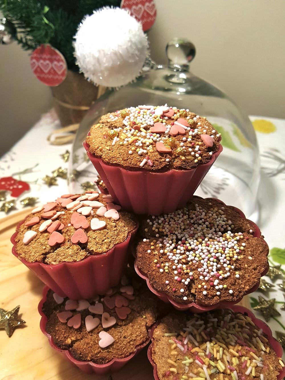 Muffin Noel Banane Vegan