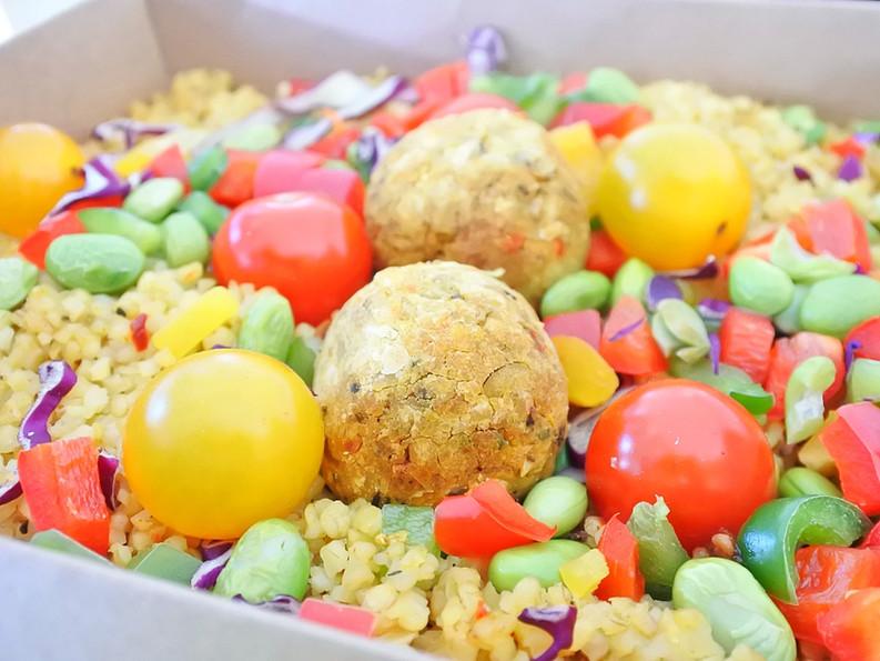Falafel Vegan & Sans Gluten { 2 Idées de Lunchbox}