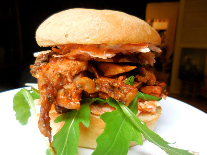 LE Vegan Burger [sans légumineux]