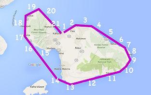 Fly Around The Island Of Maui