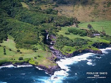 Pools Of Oheo Maui or Seven Sacred Pools