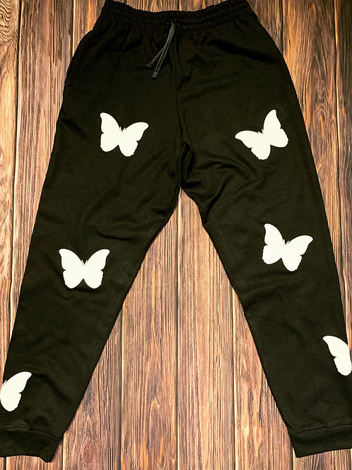 Fly Effect Joggers (blk/whte)