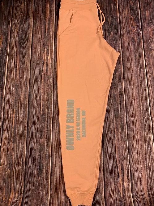 AW20 Sweatpants (peach)