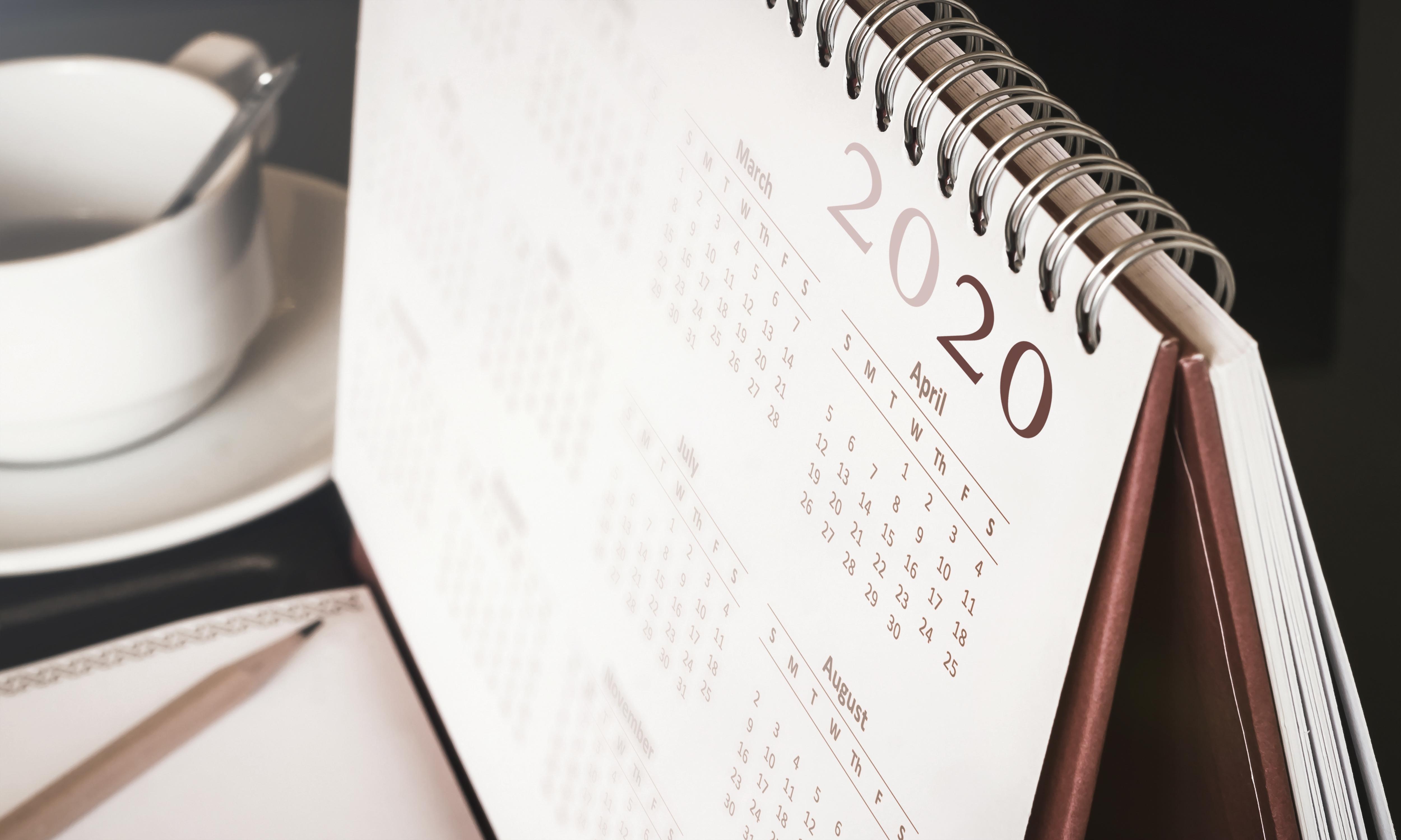 Custom Desk Calendars