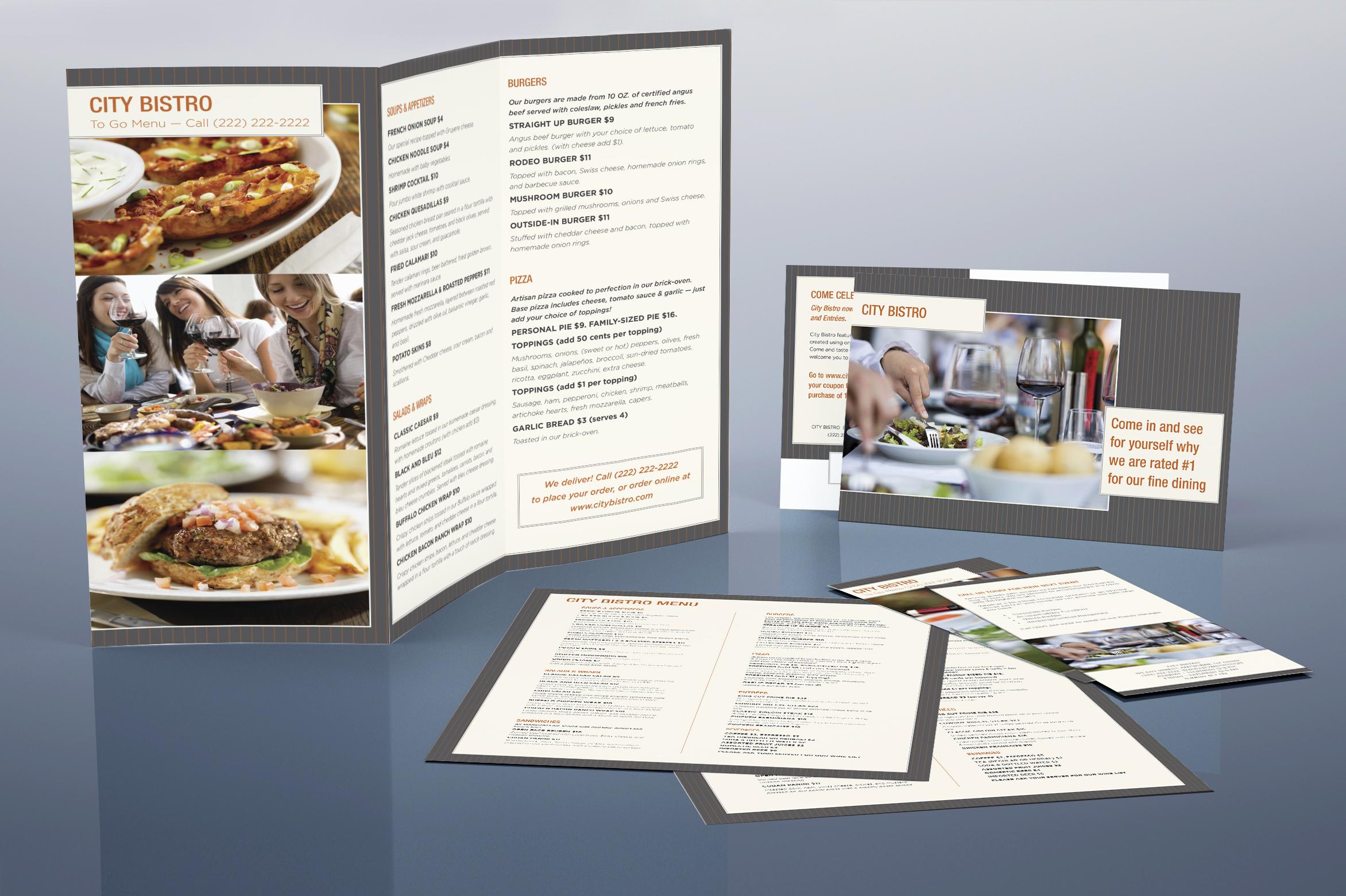 Restaurant-Collage