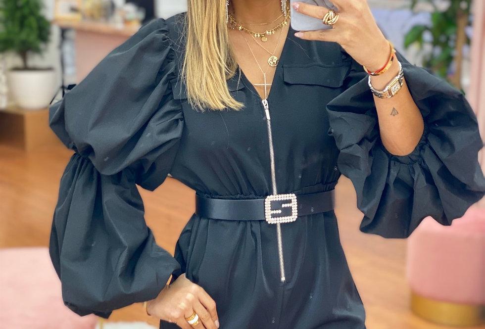 Flory Jumpsuit in black