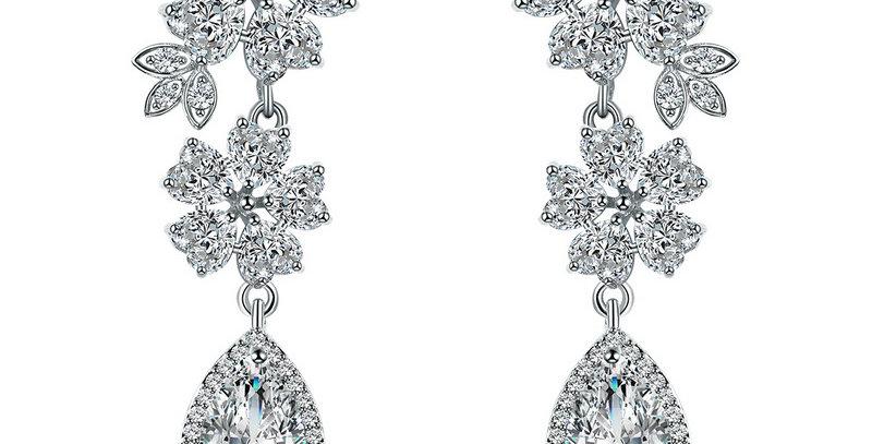 wedding earrings dangle
