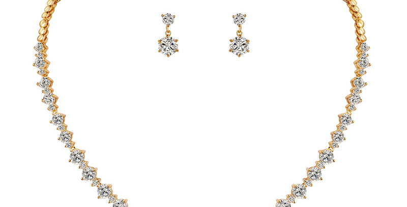 Amara Gold Bridal Jewellery Set