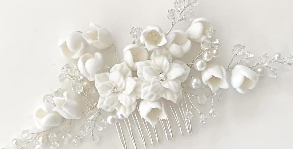 Dior Silver Bridal Hair Comb