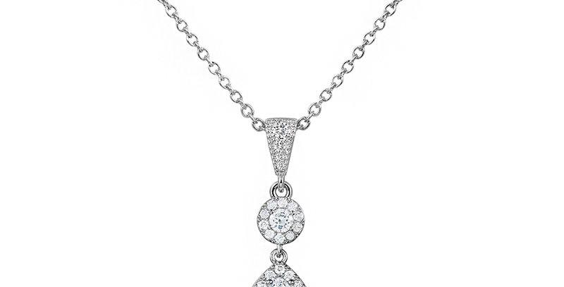 bridal pendant necklace