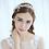 Bride with headpiece