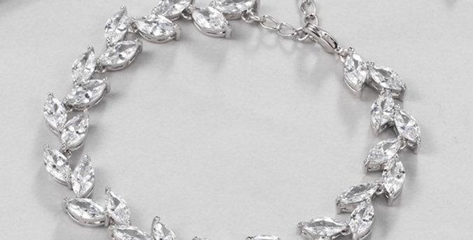 delicate bridal bracelet