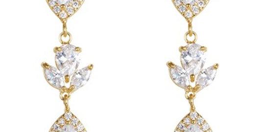 beautiful bridal earrings