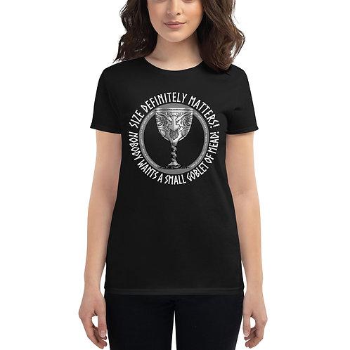 Size matters IfV Women's short sleeve t-shirt