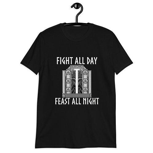 Feast all night IfV Short-Sleeve Unisex T-Shirt