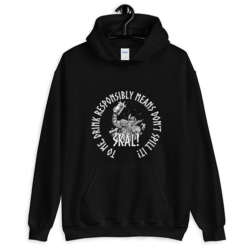 Don't spill IfV Unisex Hoodie