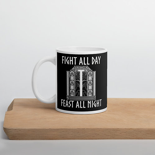 Feast all night Mug