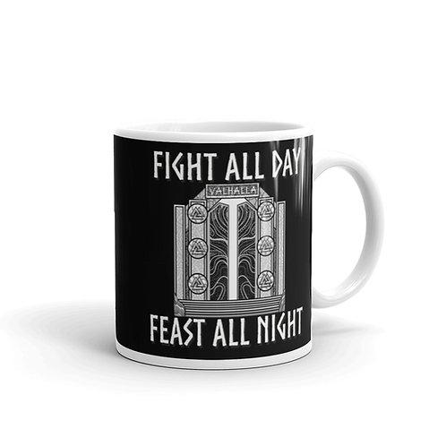Feast all night Mug