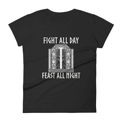 Feast all Night  IfV Women's short sleeve t-shirt