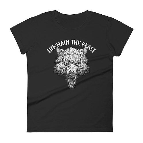 Unchain the beast IfV Women's short sleeve t-shirt