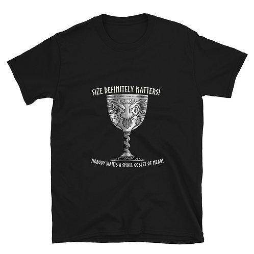 Size matters IfV Short-Sleeve Unisex T-Shirt