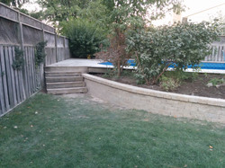 Retaining wall (after) 001