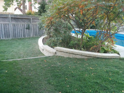 Retaining wall (after) 003