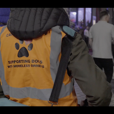 Danielle takes to the busy streets of Liverpool to help those in need