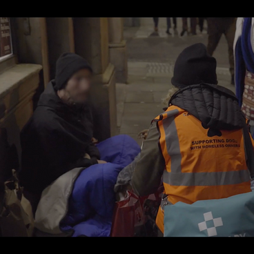 Danielle provides invaluable veterinary care for the pets of Liverpool's rough sleepers