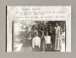 Alba School, Spring 1935