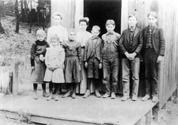 Alba School, Spring 1907