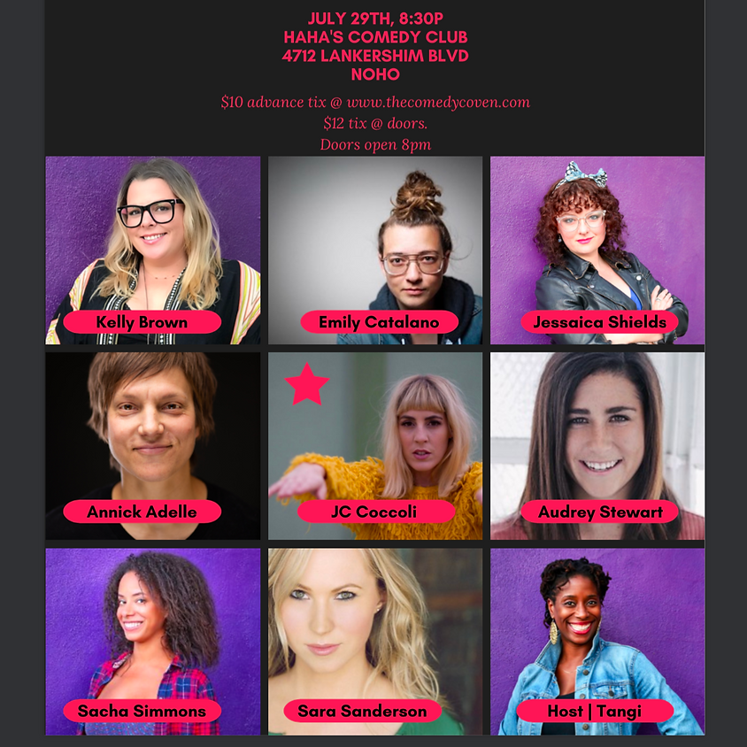The Comedy Coven July show