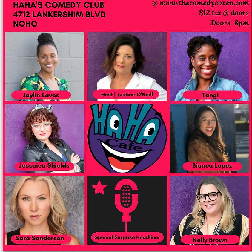 The Comedy Coven | GALENTINES Show! Feb. 13th, 2020