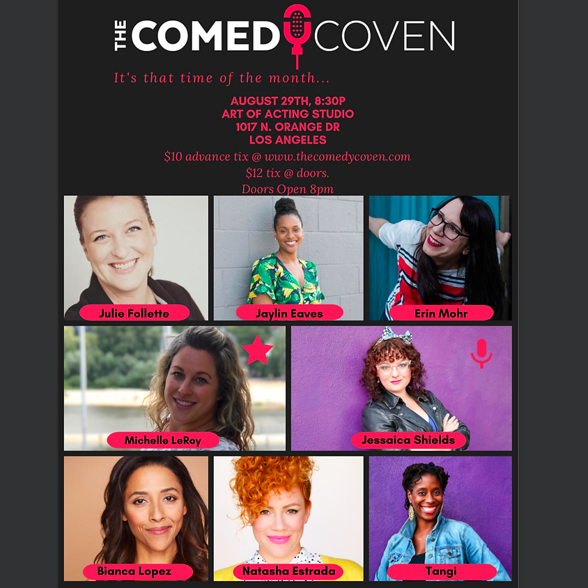 The Comedy Coven | August Show
