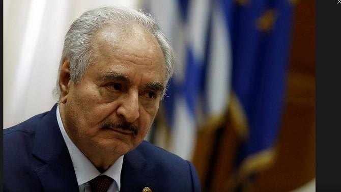 Libya's Haftar committed to ending oil blockade, U.S. says