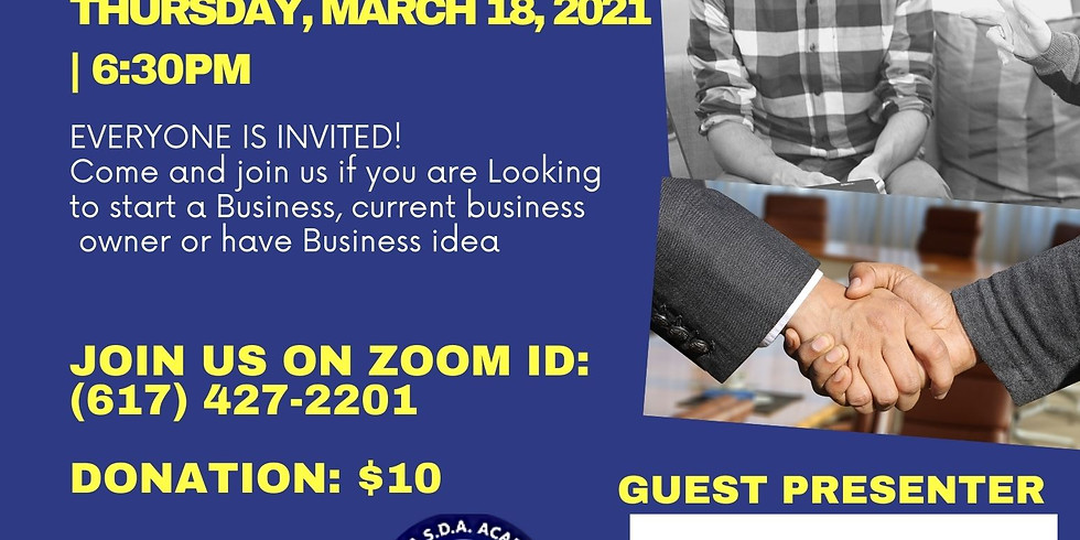 Business Expo- Business Informational Session Part II