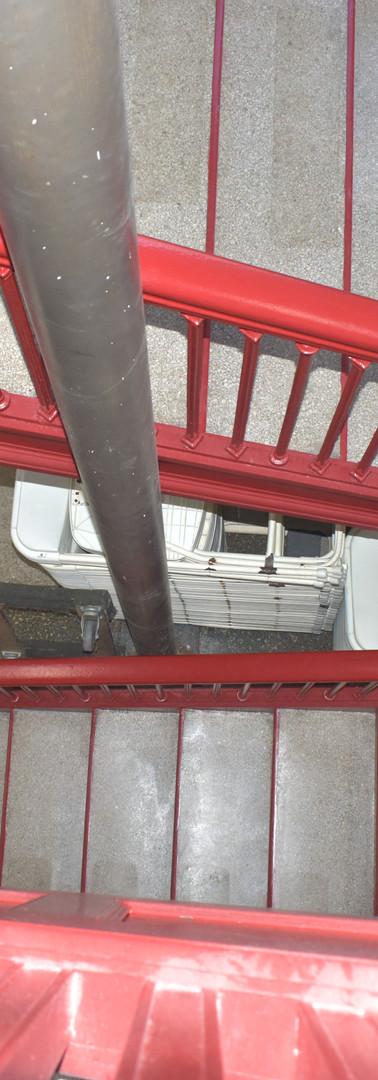 Berea Academy stairway