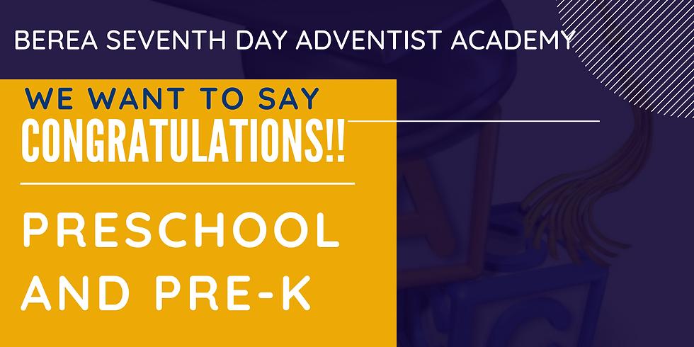 Berea SDA Academy Preschool and Pre-K Graduation