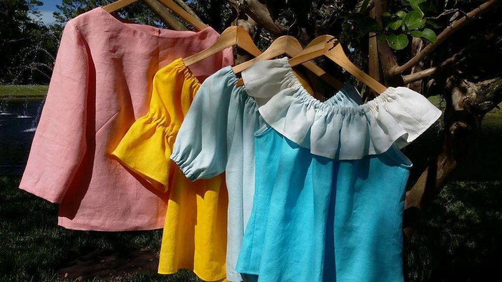 Italian Linen Custom Sewn Tops