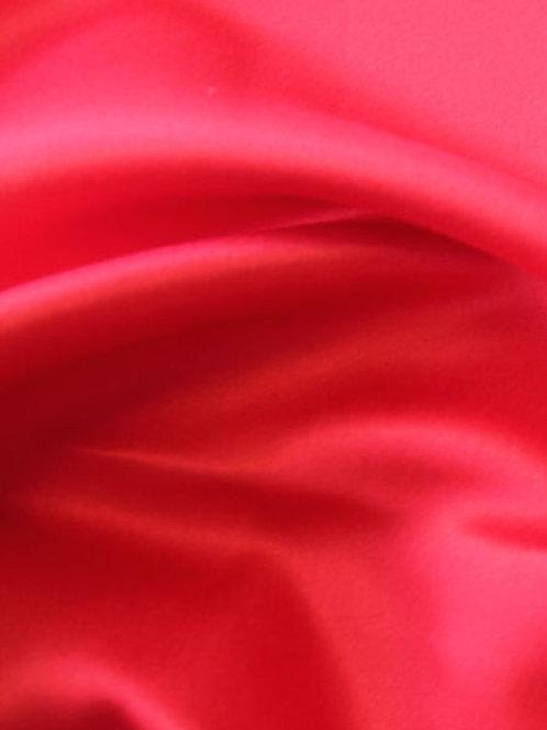 Crepe Back Satin-Red
