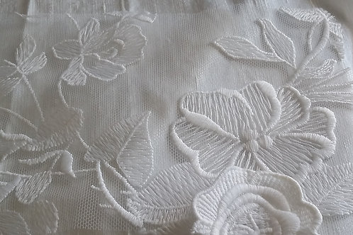 Embroidered Lace-Meghan