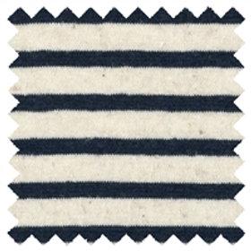 Navy Stripe Hemp Cotton Knit