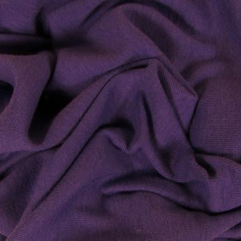Organic Cotton Rib Knit-Amethyst