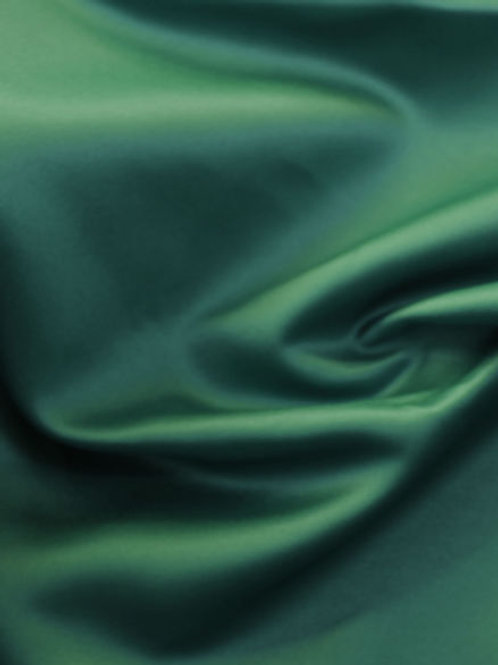 Crepe Back Satin-Bottle Green