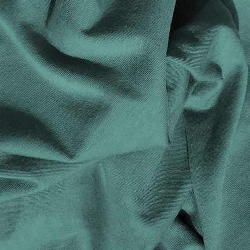 Organic Cotton Rib Knit-Seafoam