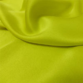 Sueded Charmeuse-Venomous Yellow