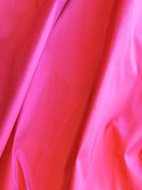 Silk Doupionni-Scarlet