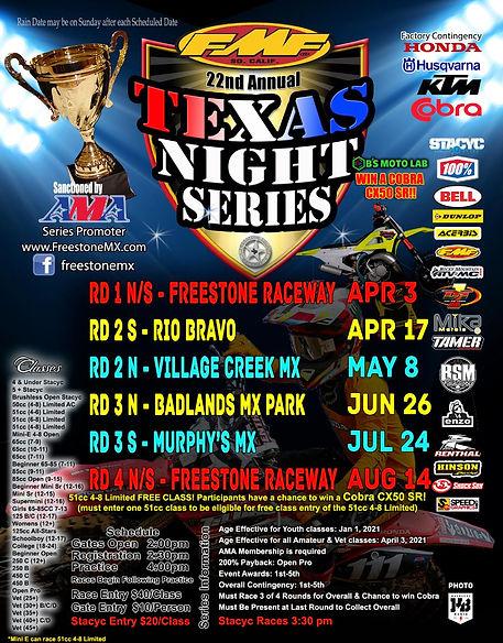 22nd Texas Night Series