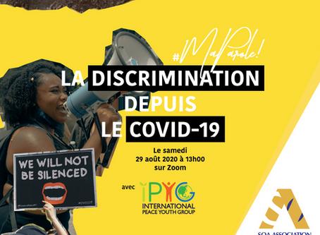 #MaParole La discrimination depuis le Covid-19
