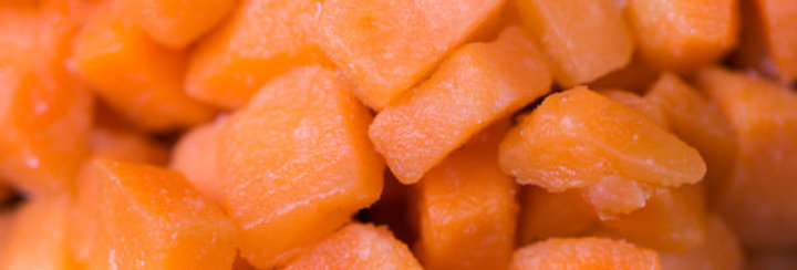 Заморожена морква (кубик)